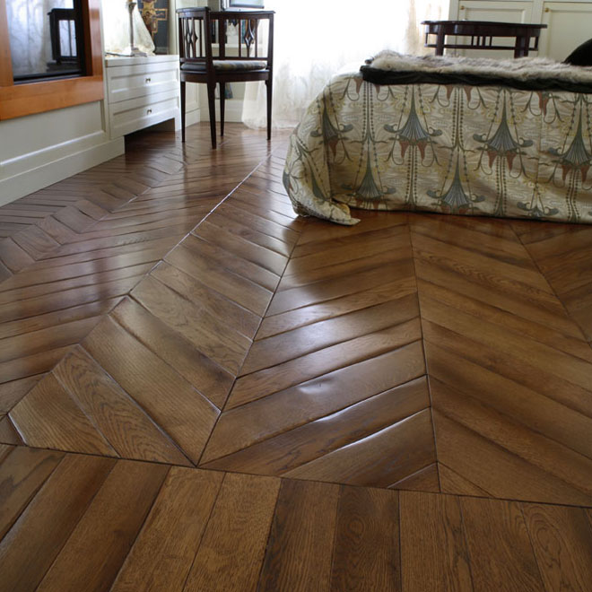 Fabuleux Hungarian point parquet - Installation pattern - Emois & Bois HM04