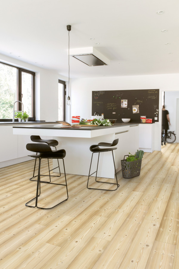 Parquet Laminated floors Pin naturel monolames 2