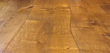 Parquet à lames courbes - Sinuosité - Collection - Emois Et Bois