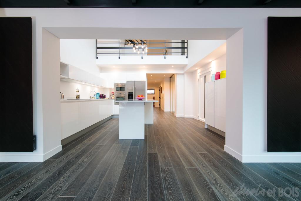 parquet pour la cuisine nos conseils. Black Bedroom Furniture Sets. Home Design Ideas