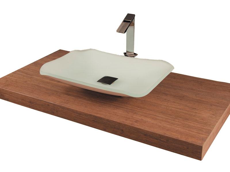 vasque en teck massif Plan vasque PLAZA