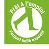 """Logo """"Prêt à l'emploi"""" - Parquet huilé oxydatif - Emois & Bois"""